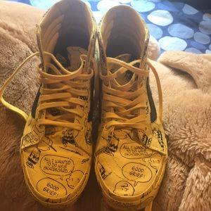 Vans shoe - peanuts